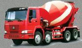 Concrete Mixer Truck HOWO Sinot
