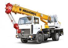 Mobile crane Ivanovets КС-35715