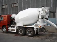 Concrete Mixer Truck HOWO ZZ125
