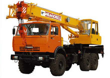Mobile crane Ivanovets КС-35714