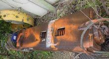1995 LEFFER 770 mm hammer grab
