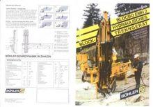 1992 Böhler Blocbo 2 line drill