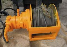 Gearmatic 1 ton hydraulic winch