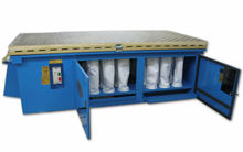 Denray 9600 Downdraft Table 245