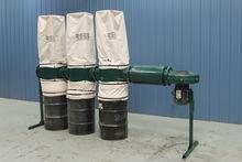 Rees C730-3 Three-Bag Dust Coll