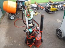 Set Of Gas Bottles And Cutting