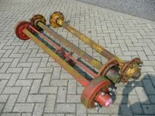 Various used axles