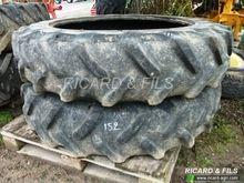 Michelin Paire de 13.6R38 Bib X