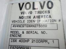 Used 2010 VOLVO VNL6