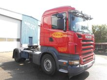 2007 Scania R420 MANUAL GEARBOX
