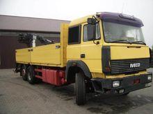 1992 Iveco 330-36 CRANE MEILLER