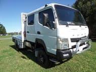 2013 Fuso FGB 7/800 Crew Cab 4x