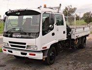 2002 Isuzu FRR550 Crew