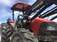 2004 Case JX90U ROPS TRACTOR, F