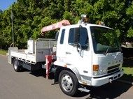 Used 2006 Fuso FK 7.