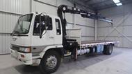 1992 Hino Tray Crane Truck