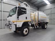 2012 Isuzu FTS Fuel Service Uni