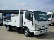 2010 Isuzu NPR300 table top too