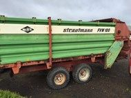 Used TRAILER STRAUTM