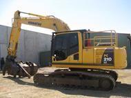 2008 Komatsu PC210LC-8