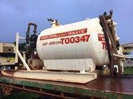 2001 Controlled Waste Tank 2000