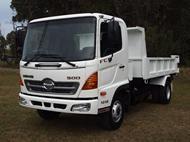 2009 Hino 500 Series 1018 Dump