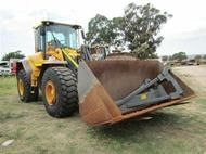 Used Volvo L120F in