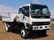 2005 Isuzu FTS750 Tipper Crane