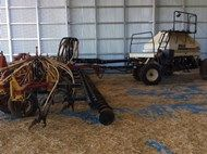 Bourgault 8810 - 42' cultivator