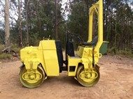 Used BOMAG BW120 in