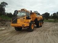 Used Volvo A25C in A