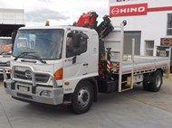 2013 Hino FG 500 Series 1628 Cr