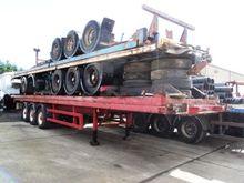 4 x flat trailers