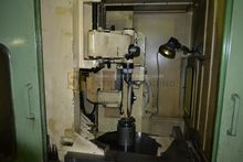 Gear grinding machine for helic