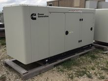 80 kW Cummins Natural Gas Gener