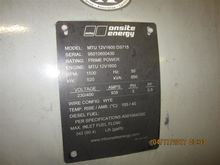 520 kW MTU Diesel Generators, T