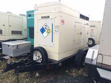 55 kW Kohler Portable Diesel Ge