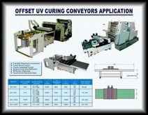 U.V. CURING CONVEYOR FOR OFFSET