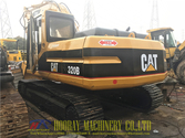 320B Caterpillar tracked excava