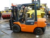 Used Toyota forklift 7FD25 with