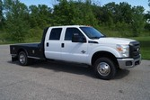 2011 Ford F350 –  9ft Flatbed –