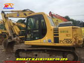 PC120-6 used tracked excavator