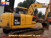 PC130-7 used tracked excavator