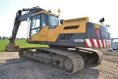 Used 2011 Volvo EC250DL tracked
