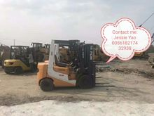 2010  used TCM Forklift 3 ton F