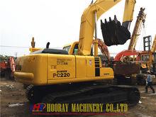 Komatsu PC220-6 excavator, koma