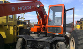 HITACHI WH03 wheel excavator