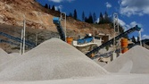 Crifi Crusher plant on quarry p