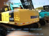 Used KOMATSU PC360-7