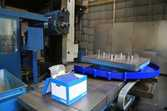 Horizontal table boring machine
